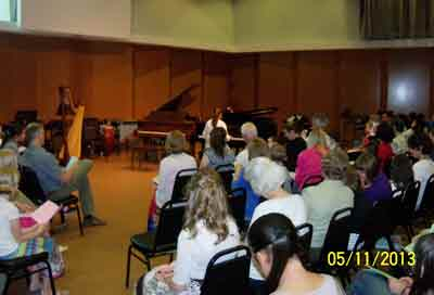 Concert at Clackamas Community College